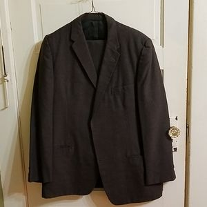 Vintage Grey Mens Suit